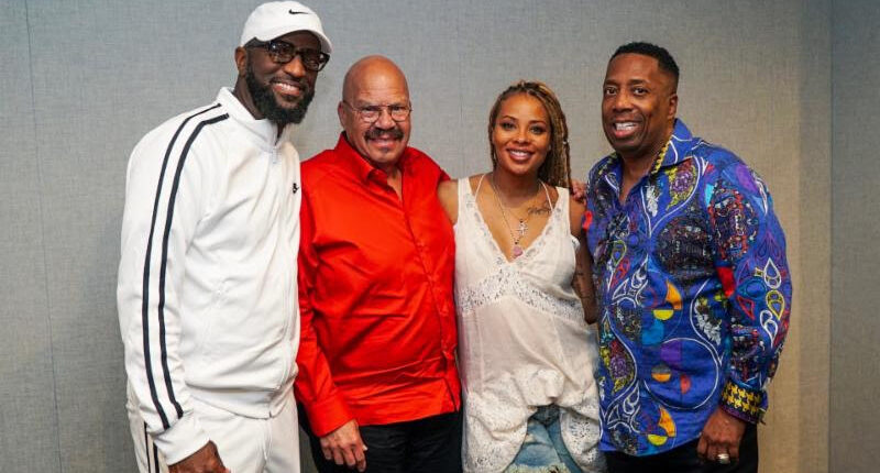 Rickey Smiley, Tom Joyner, Eva Marcille, Gary With Da Tea