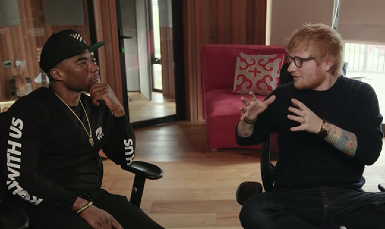 Charlamagne Tha God, Ed Sheeran