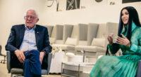 Bernie Sanders, Cardi B