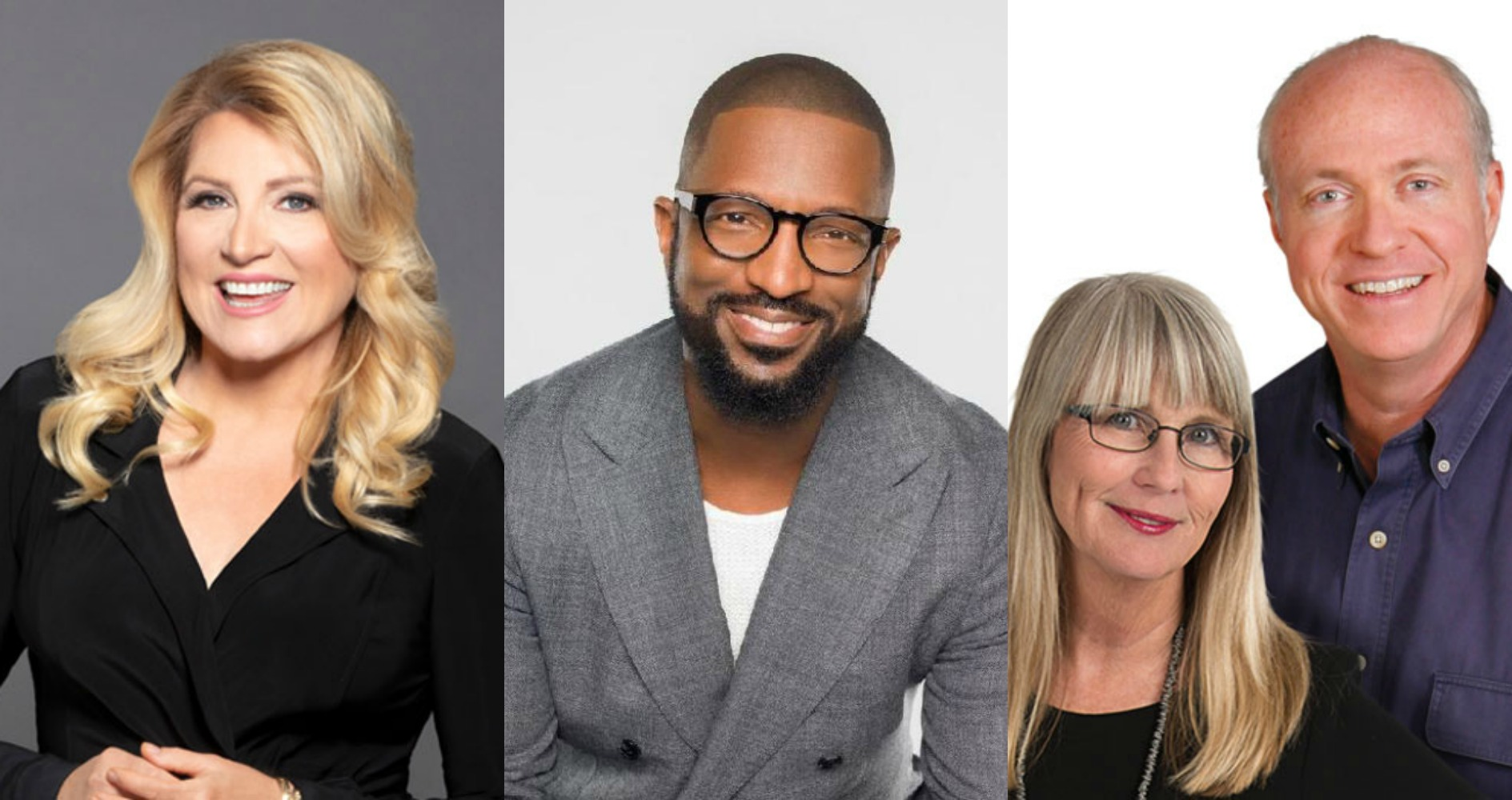 Delilah, Rickey Smiley, Kristi Lee & Tom 2019