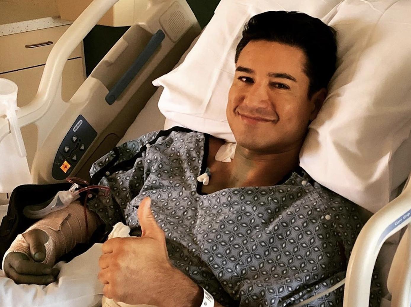 Mario Lopez Surgery