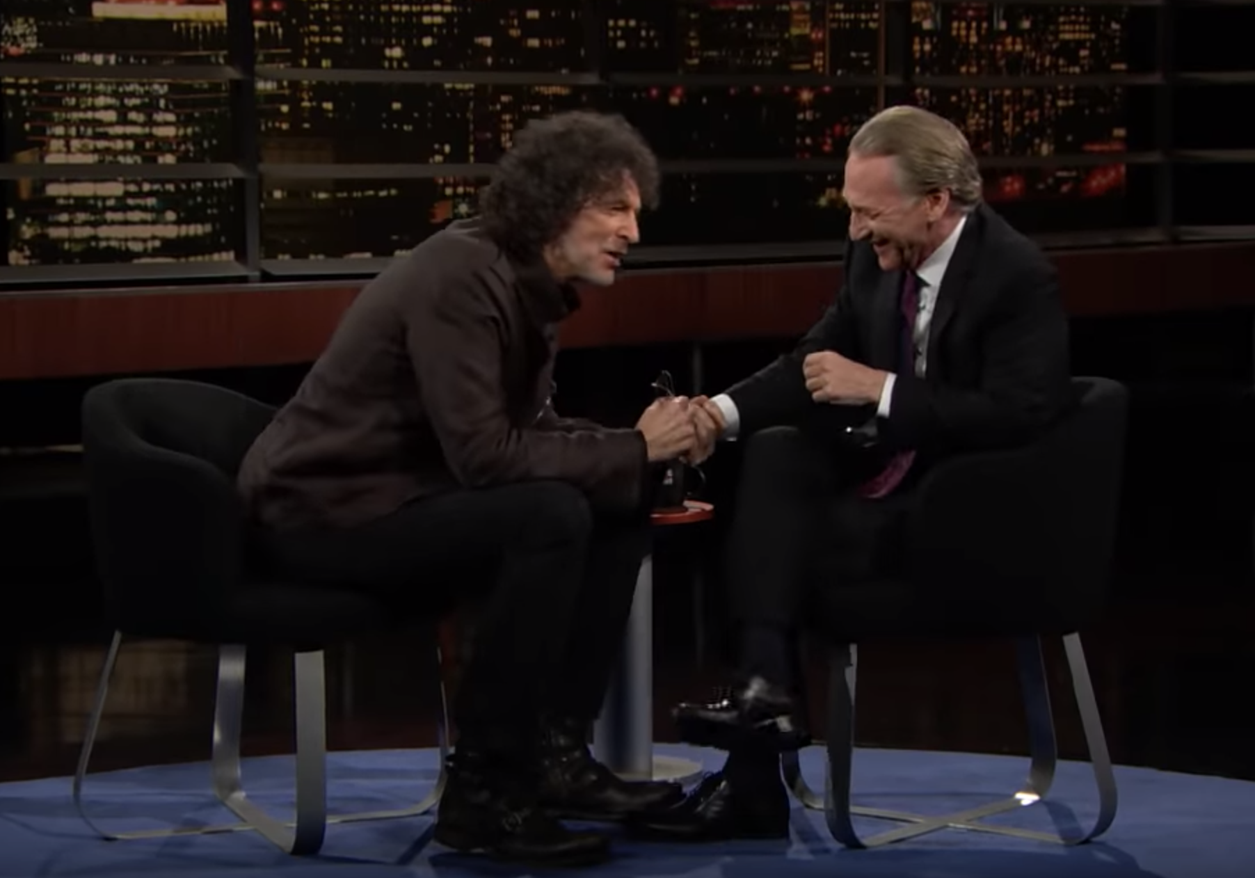 Howard Stern, Bill Maher